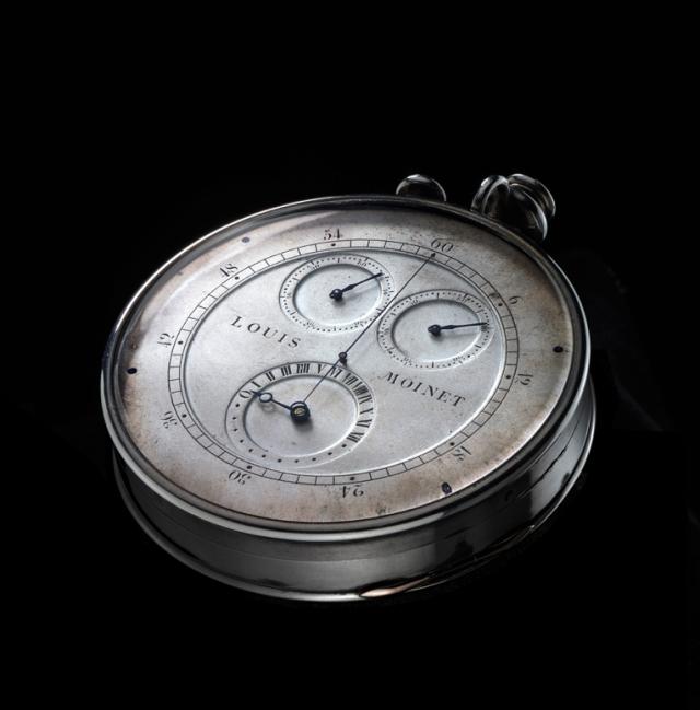 chronographe Louis Moinet 1916 face