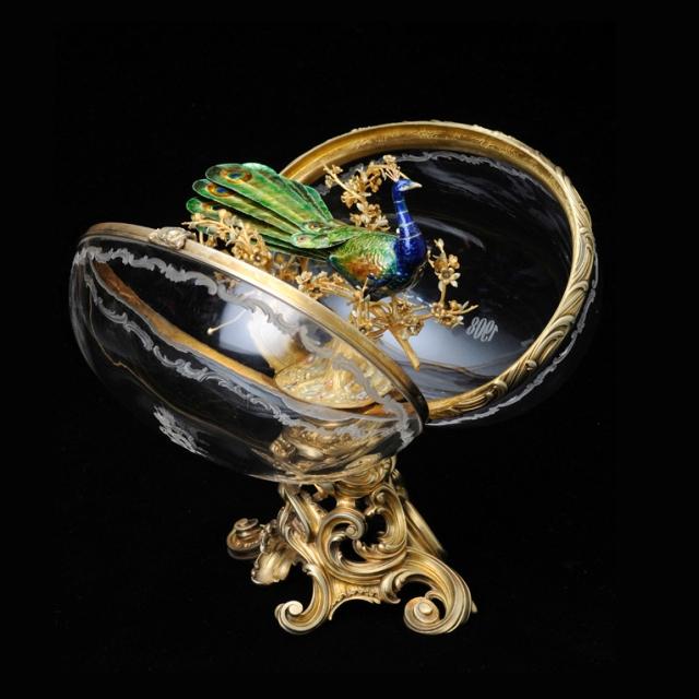 l'oeuf au paon, Fabergé